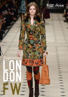 Burberry en pilarmode.com London Fashion Week