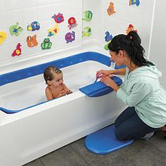 Bath bumper : 12 problem-solving childproofing products #BabyCenterBlog