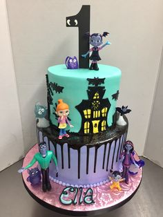 Halloween 1st Birthdays, Halloween First Birthday, 4th Birthday Parties, First Birthdays, Birthday Cake Girls, Girl First Birthday, Baby Birthday, Birthday Bash, Birthday Ideas