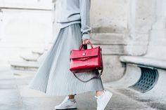 Fashion - Kira Kosonen maxi skirt all grey outfit