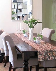 Sourav Dining Table | World Market  Like the chairs and runner too
