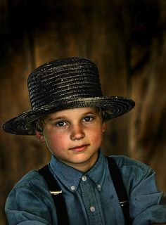 Faces of America - a young Amish lad