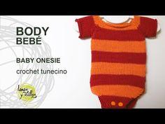 Tutorial Body Bebé Crochet Tunecino Punto Jersey