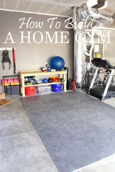 HOW TO BUILD A HOME GYM...I could do this. I still need to hang up my barre #sbffitforsall