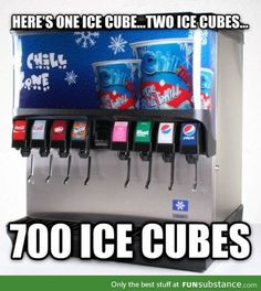 You get me every time ice machine