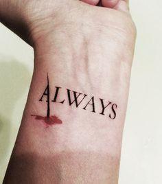 Castle - Always Temporary Tattoo