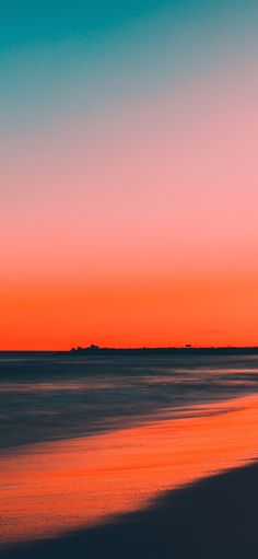 nu77-sunset-beach-fall-night-sea-nature via http://iPhoneXpapers.com - Wallpapers for iPhone X