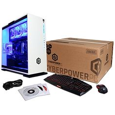 CYBERPOWERPC Gamer Xtreme GXi10200A Desktop Gaming PC (Intel i7-7700  3.6GHz, NVIDIA GTX 1060 6GB, 16GB DDR4 RAM, 1TB 7200RPM HDD, 128GB NVMe  SSD, ... 5485dcc54c74