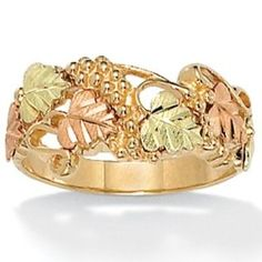 Something about pink gold just makes me love it.  PalmBeach Jewelry Black Hills Ring