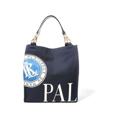 0021ff170691 Ralph Lauren Medium Palais Canvas Tote ( 749) ❤ liked on Polyvore featuring  bags