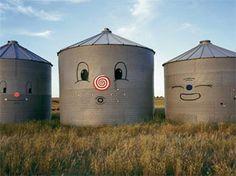 Grain bins by Chris Uphues