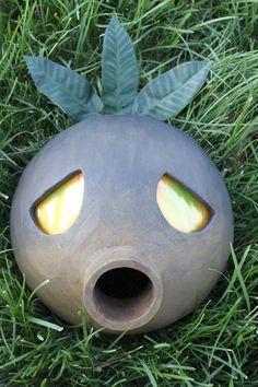 The Legend of Zelda Deku Mask by ThePropsShop on Etsy, $80.00