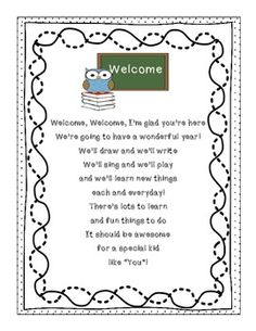 Preschool Open House/First Day on Pinterest | Back To School, First ...