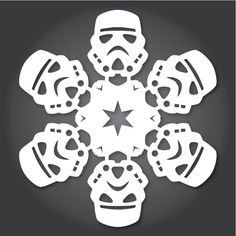 「雪の結晶スター・ウォーズ」切り絵のつくり方 «  WIRED.jp