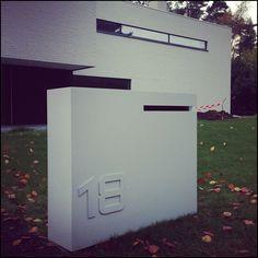 Brievenbus maatwerk corner - Design brievenbus - Ambrosia Design
