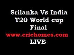 India Vs Srilanka T20 Final Live Streaming