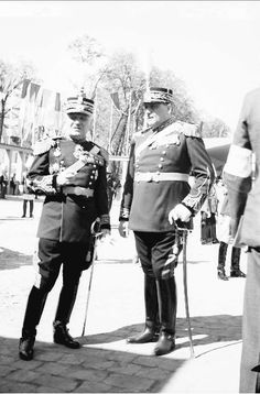 Parada Militara in Cotroceni - 10 mai 1937 Cartier, Military