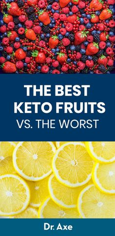 What are the best keto fruits? Look for low-carb, high-fiber fruits that are low in net carbs. Here's the list of keto friendly fruits vs. which ones to avoid. Ketogenic Diet Plan, Ketogenic Diet For Beginners, Diet Plan Menu, Ketosis Diet, Whole30, Keto Friendly Fruit, Keto Regime, High Fiber Fruits, Healthy Vegetarian Recipes