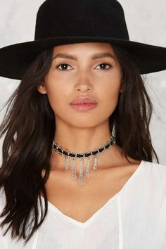 Ettika Ring Me Up Chain Choker - Accessories | Necklaces | Booties + Accessories | All Vintage Tees + Denim
