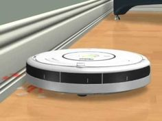iRobot Roomba® Vacuum Cleaning Robot Wall Follow Animation