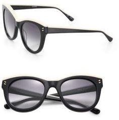 8cc2bb59734 Stella McCartney Double Pins 51MM Cat s-Eye Sunglasses -  400.00 Buy  Sunglasses