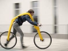 The FLIZ Pedal-Less Bike Concept