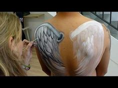 The Guard - Body Painting - YouTube