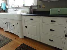 Vintage Kitchen Sink Cabinet kitchen:vintage single basin double drainboard kitchen sink