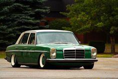 Bagged Mercedes W115... - StanceWorks