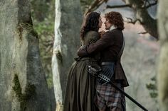 [Spoiler Alert: If you have not seen the finale yet, please come back to this post after you do.] There have been a few comments from fans about a particular part of Jamie and Claire's goodb…