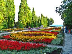 Balchik, Bulgaria, Palace Garden Source by jaceche Beautiful World, Beautiful Places, Costa, Republic Of Macedonia, Palace Garden, Largest Countries, Travel Couple, Botanical Gardens, Wonders Of The World