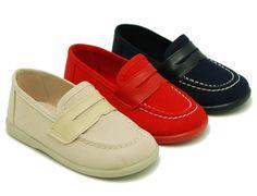 Tienda online de calzado infantil Okaaspain. Mocasín con antifaz de serratex. Calidad al mejor precio hecho en España.