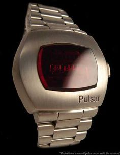 1973 'Live And Let Die' Hamilton Pulsar 'P2 2900' LED digital watch.