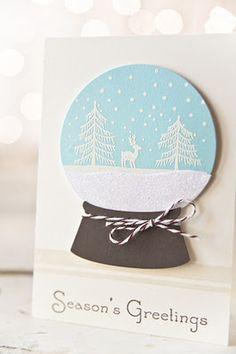 Snow globe die by amuse studio
