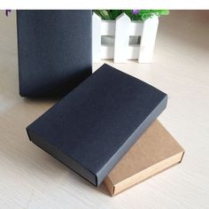 24PCS Kraft Darawer Box Black Paper Carrying Cases Blank Gift boxes Drawer Box Gift Craft Power Bank Packaging Cardboard Boxes-in Jewelry Packaging & Display from Jewelry & Accessories on Aliexpress.com   Alibaba Group