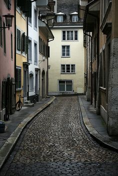 Alleyway, Solothurn, Switzerland