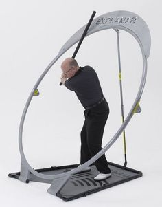 Train key golfing muscles for improved strength and flexibility with the home golf swing training aid by Explanar #golfhacks
