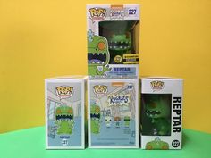FUNKO POP RUGRATS REPTAR 227 GLOW IN THE DARK EE EXCLUSIVE  #FUNKO