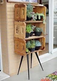 Garden boxes diy pallets awesome New Ideas Palettes Murales, Garden Art, Home And Garden, Herb Garden, Cactus Y Suculentas, Garden Boxes, Diy Box, Succulents Garden, Garden Inspiration