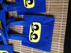 Treat bags for Ninjago party