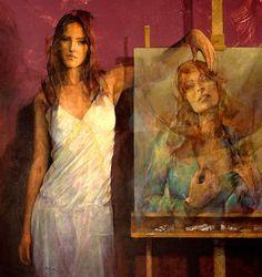 https://flic.kr/p/xkTzj7   Paris Art Web - Painting - Fabien Clesse   Painting by the French artist Fabien Clesse   See more: www.parisartweb.com/artists/painting/fabien-clesse/   #Art #Painting #Portrait #France #FabienClesse #ParisArtWeb
