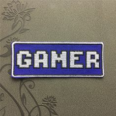 Gamer patch Individuality patches iron on patches sew on patch hat patch bag patch