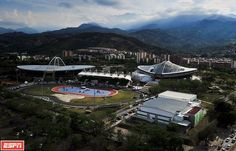 Sports stadiums, Cali, Colombia (hosted the 2013 World Games)