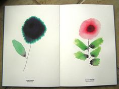 wildflowers alan fletcher monographica by dailypoetics, via Flickr