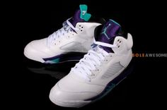 """Air Jordan 5 """"Grape"""" 2013 Retro"""