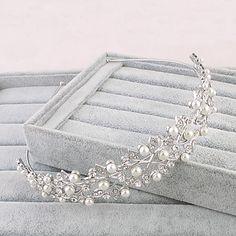 Women's Rhinestone Headpiece-Wedding Special Occasion Office