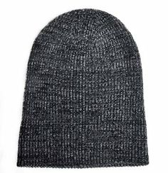 Fisherman Rib Beanie Black Grey Mixed Long Cuffable Warm Hat    Price: $9.99  Sale: $6.99 & FREE Shipping on orders over $35. Details    You Save: $3.00 (30%)