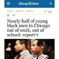 And you wonder why Chicago is wilding.