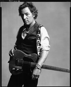 Bruce Springsteen. So rare to see a rock star adjust his style and themes to match his age. Has class, genuine concern for the downtrodden, and a great sense of humor too. A true legend.
