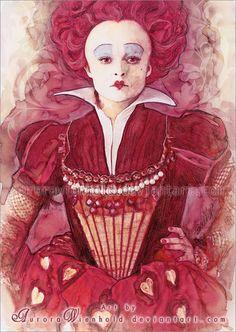 Red Queen - Alice in Wonderland by Aurora Wienhold
